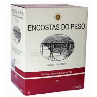"Encostas do Peso - Tinto 5L "" Bag-in-Box"""